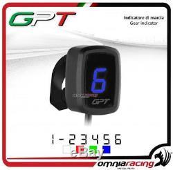 Indicateur vitesse GPT plug&play bleu+support Yamaha YFM700 RAPTOR ATV 20052010