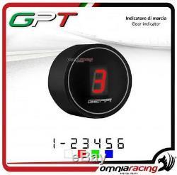 Indicateur vitesse GPT plug&play noir led rouge Yamaha YFM660 RAPTOR 20022005