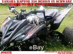Invision Décor Graphique Kit Atv Yamaha Raptor Yfm 125/250/350/660/700 Joker, B