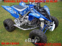 Invision Décor Kit Atv Yamaha Raptor Yfm 125/250/350/660/700 Tùete Fluage B