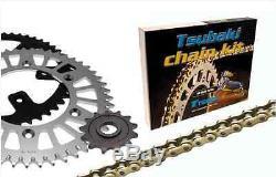 Kit Chaine MX Omega ORS Quad Yamaha YFM350 R Raptor 04-11 2004-2011 1338 520