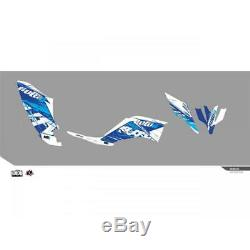 Kit Déco Kutvek Rotor Bleu Yamaha Yfm250 Raptor 250 RAPTOR 08-14-BH/78104002