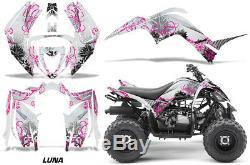 Kit Graphique Décalque Autocollant Enveloppe pour Yamaha Raptor 90 YFM90