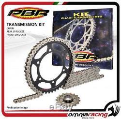 Kit chaine couronne pignon PBR EK Yamaha YFM660 RLE-S RAPTOR Ltd Ed. BLK 2004