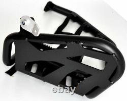 Nerfbar Yamaha Raptor YFM 700 R Avec Garde de Talon Orange Réseaux