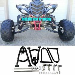 Prolongé A-Bras +2'' de large entièrement réglable Pour Yamaha Raptor 700 YFM700