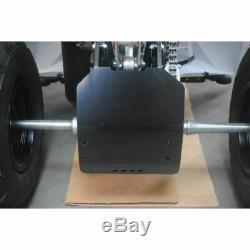 Sabot arrière AXP PHD 6mm noir Yamaha YFM350R Raptor
