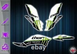 Yamaha Raptor 250 Stickers Kit Graphique Stickers YFM 250 Atv Graphics