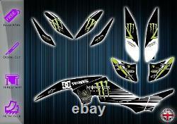 Yamaha Raptor 350 Stickers Kit Graphique Stickers YFM 350 Quad Graphique
