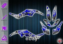 Yamaha Raptor 350 Stickers Kit Graphique Stickers YFM 350 Vtt Graphique