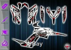 Yamaha Raptor 700 Stickers Kit Graphique Stickers YFM 700 Atv
