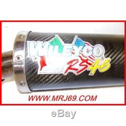 Yamaha Raptor Yfm 350 2005 Silencieux Carbone Wileyco-occasion