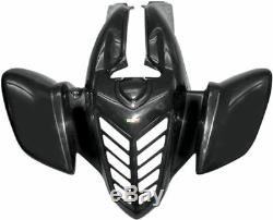 Yamaha YFM660R Raptor 01-05 Maier Standard Aile de devant Noir