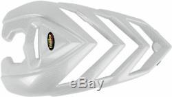Yamaha Yfm700r Raptor 06-08 Maier Standard Coupe Blanc Fibre de Carbone