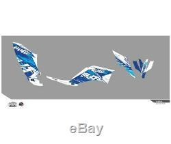 Yamaha Yfm 250 Raptor-05/14-kit Déco Kutvek Rotor Bleu-78104002